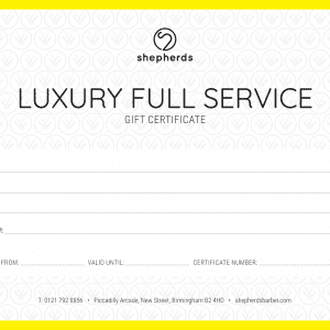 LUXURY FULL SERVICE
