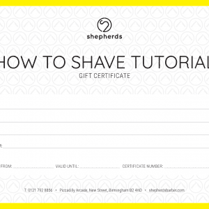 HOW TO SHAVE TUTORIAL
