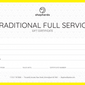 TRADITIONAL FULL SERVICE