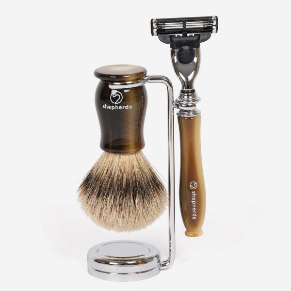 Light Horn Shaving Set Gillette M3